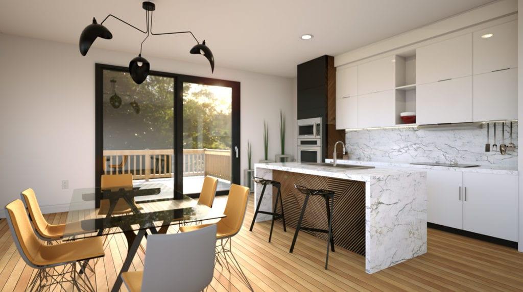 Cuisine design d'interieur